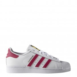 Adidas Superstar Bianco/Rosa Bambina