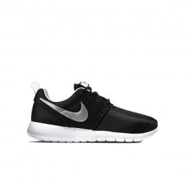 Nike Roshe One Gs Nero/Silver Bambino
