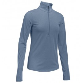 Under Armour T-Shirt Ml Run Streaker 1/2 Zip Aurora Purple Donna