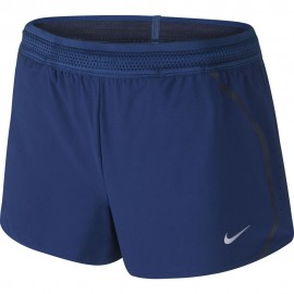 Nike Short Run Aeroswift Royal Blue Donna
