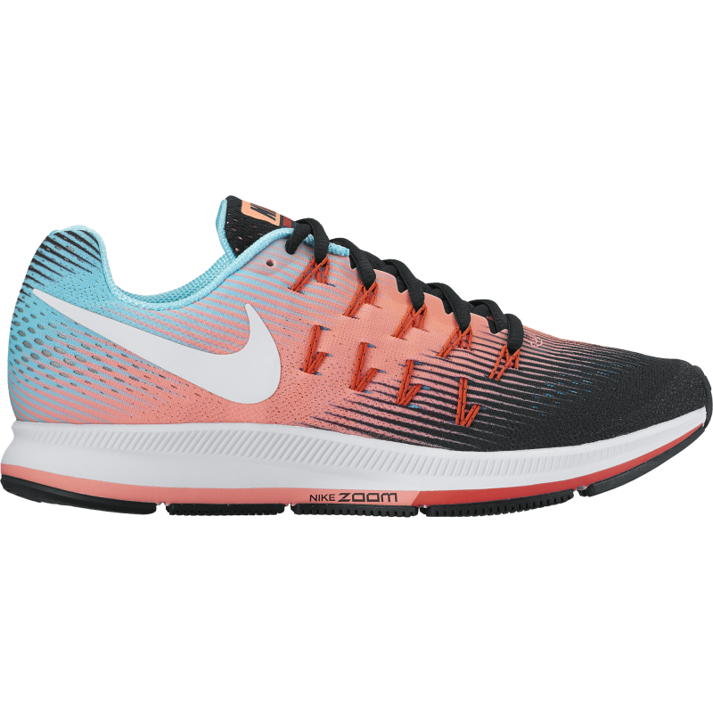Nike Air Zoom Pegasus 33 Pure Platinum/Black Donna