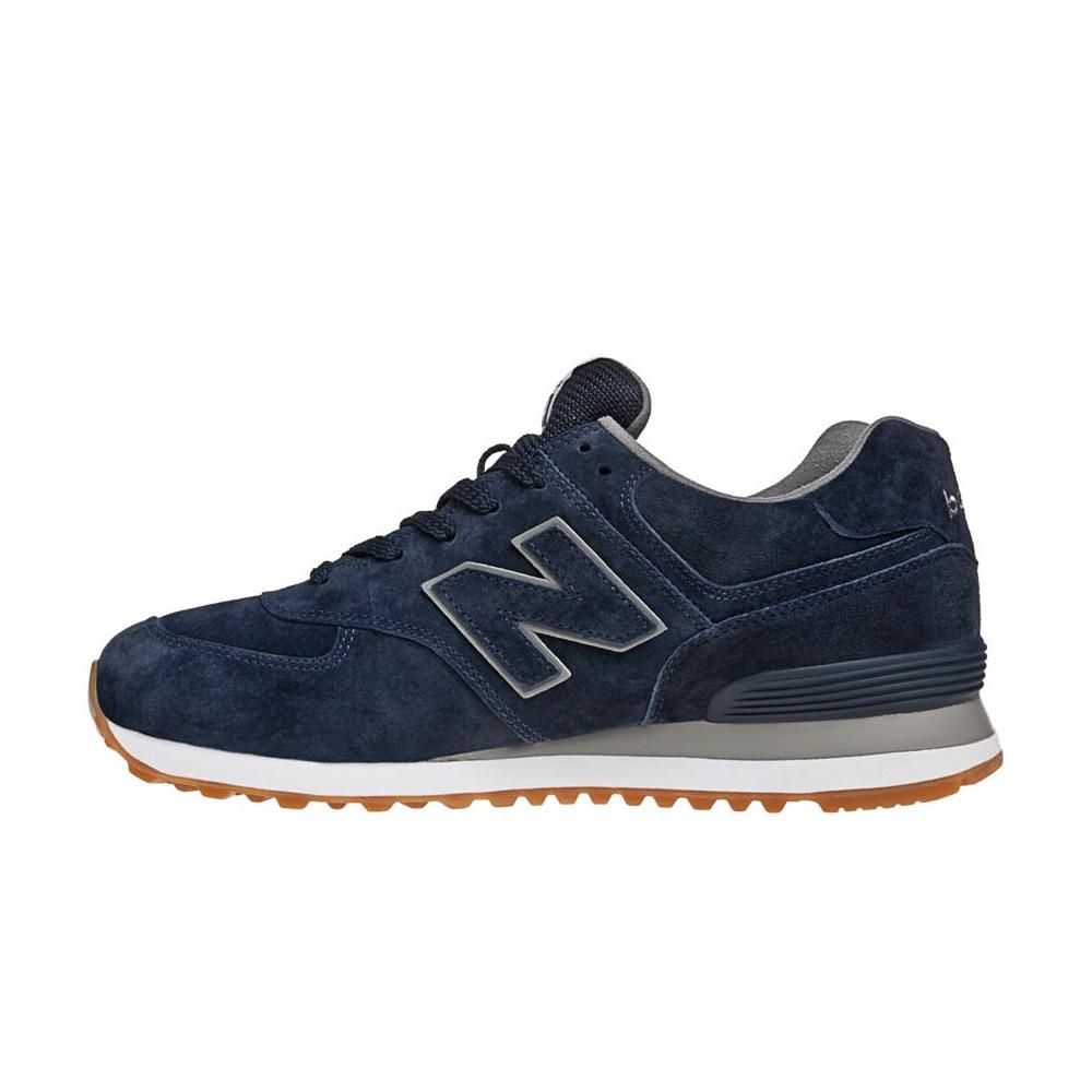 new balance ml574 blu