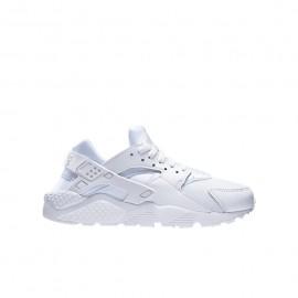 Nike Huarache Run Gs Bianco/Bianco Bambino