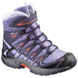 Salomon Neve Xa Pro 3d Winter Ts Cswp Thistle Grey Denim Bambino