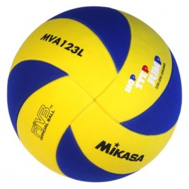 Mikasa Pallone Volley In Eva Mva123L Yellow/Navy