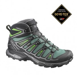 Salomon Mid X Ultra 2 Gtx Bettle Green