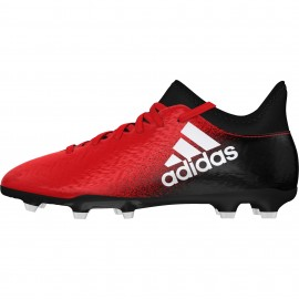 Adidas X 16.3 Fg Red/Black Junior