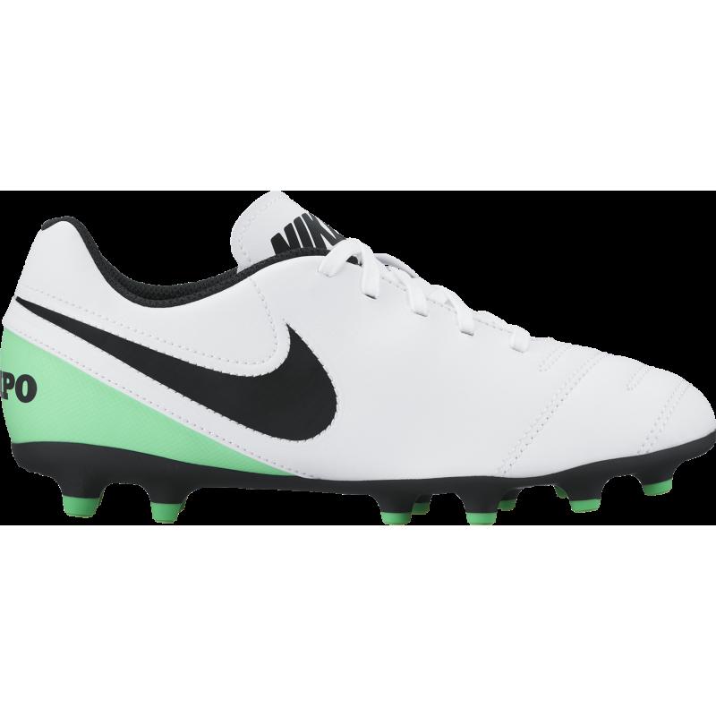 Nike Tiempo Rio III Fg Bianco/Verde Junior