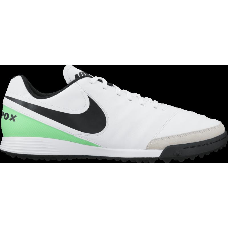 Nike Tiempo Genio II Lea Tf Bianco/Verde