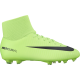Nike Mercurial 6 Df Fg  Verde/Nero Junior