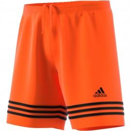 Adidas Short Entrada 14 Team  Arancio/Nero