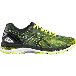 Asics Gel-Nimbus 19  Black/Safety Yellow