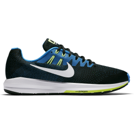 Nike Scarpa Air Zoom Structure 20  Black/Photo Blue/Ghost Green/White