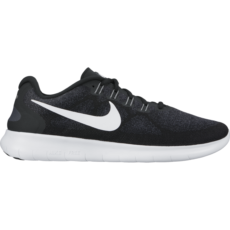 Nike  Free Rn 2  Black/White Donna