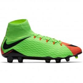 Nike Hypervenom Phatal III Fg Verde/Nero