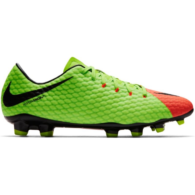Nike Hypervenom Phelon III Fg Verde/Nero