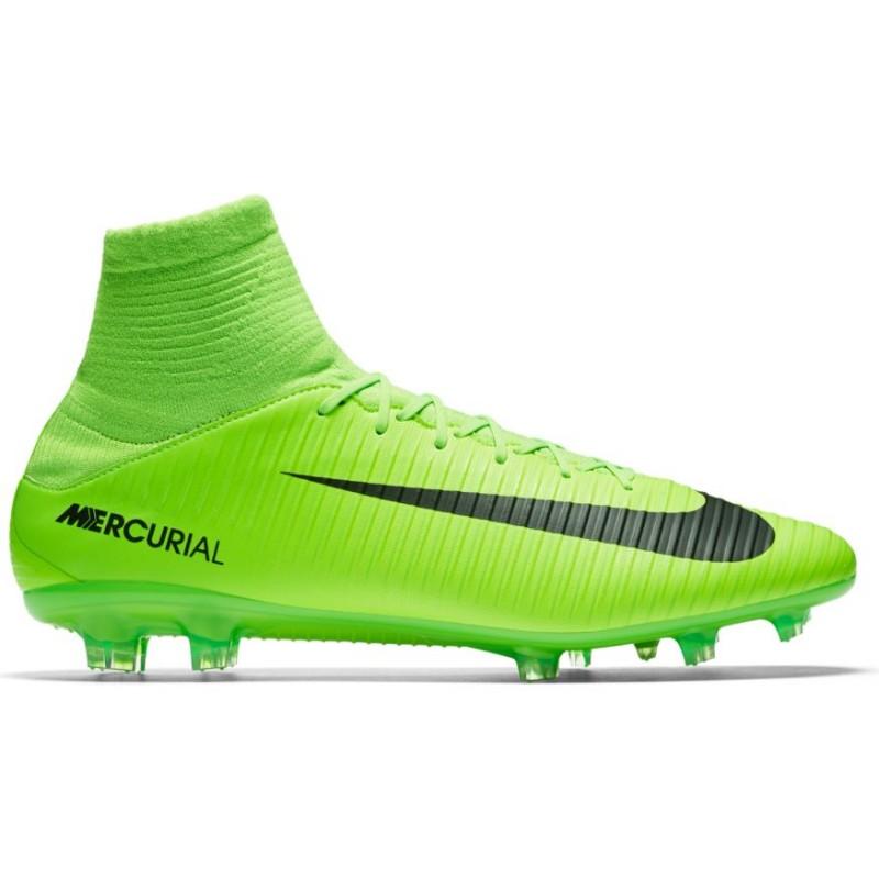 Nike Mercurial Veloce III Df Fg Verde/Nero