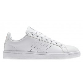 Adidas Cloudfoam Advantage Clean  Bianco/Bianco Donna