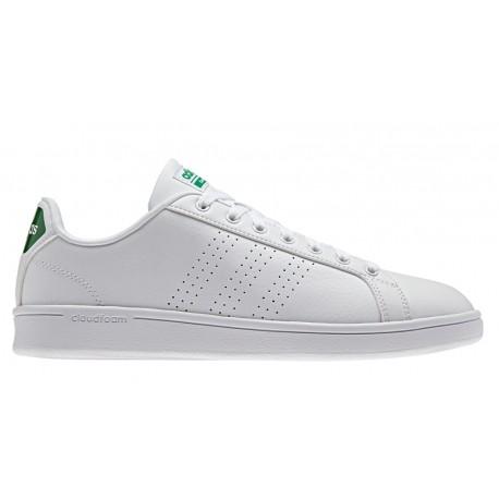 Adidas Cloudfoam Advantage Clean  Bianco/Verde