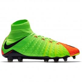 Nike Hypervenom Phantom III Fg  Verde/Nero