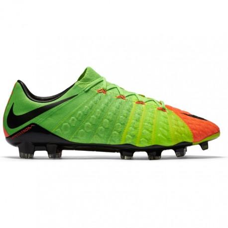 Nike Hypervenom Phinish II Fg Verde/Nero