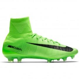 Nike Mercurial Superfly V Fg Verde/Nero