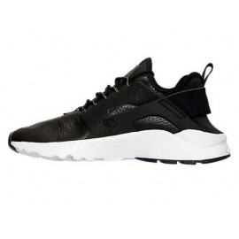 Nike Huarache Run Ultra  Nero/Bianco Lea Donna
