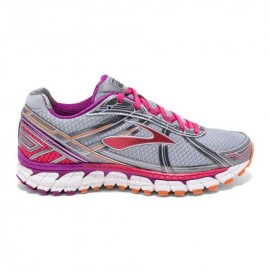 Brooks Defyance 9  Silver/Charcoal Donna