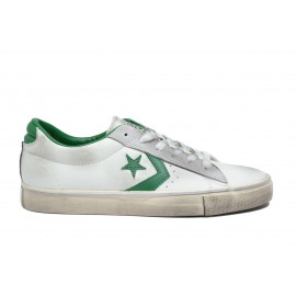 Converse Pro Lea Vulc Ox  White/Green