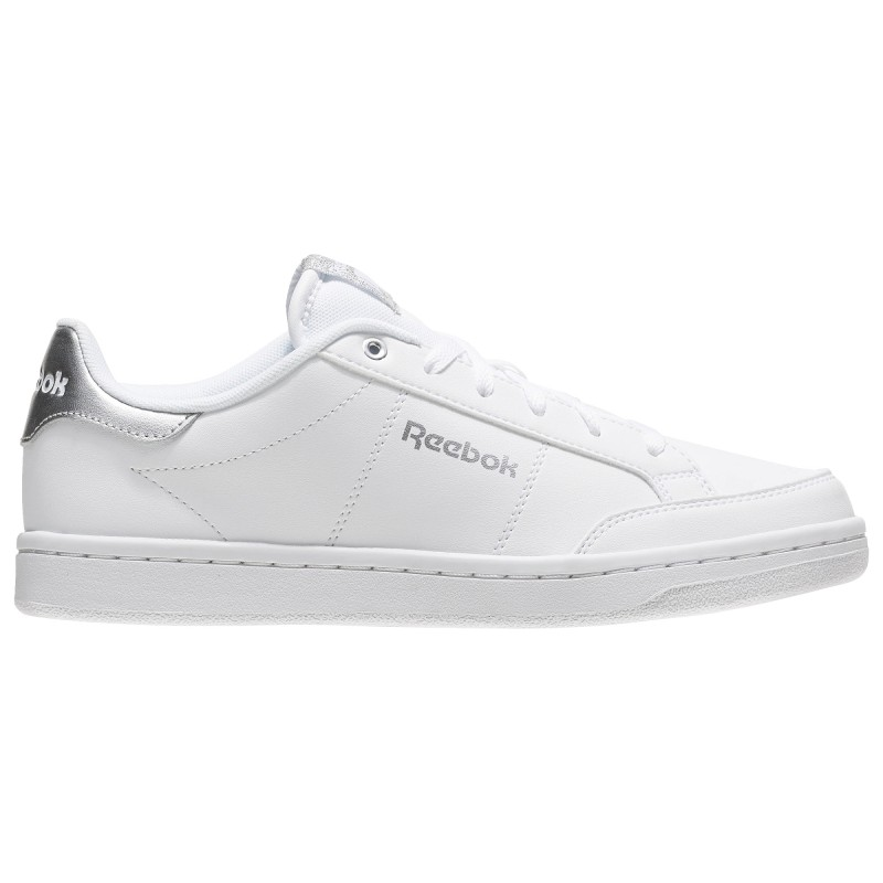 Reebok Royal Smash  Bianco/Silver Donna