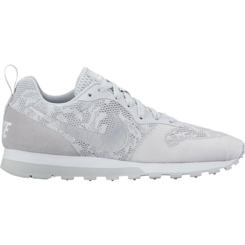 Nike Md Runner 2  Bianco/Fiori Donna