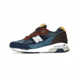 New Balance 991 Yard Pack Suede Mash  Bordo'/Blu