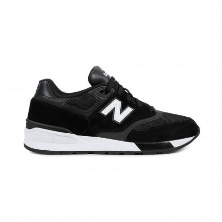 New Balance 597 Suede Mesh  Nero/Bianco