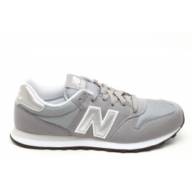 New Balance 500 Suede Mash  Grigio/Silver