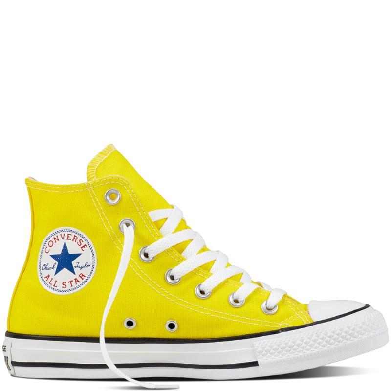 Converse Hi Chuck Canvas Seasonal  Yellow
