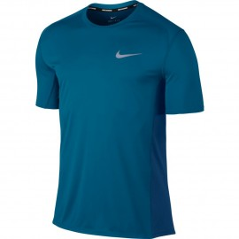 Nike T-shirt Mm Dry Miler Run Blu