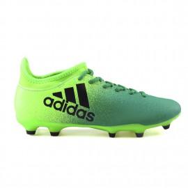 Adidas X 16.3 Fg Verde/Nero