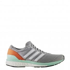 Adidas Adizero Boston Midgrey/Orange Donna