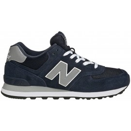 New Balance 574 Core  Suede/Mesh Blu/Grigio