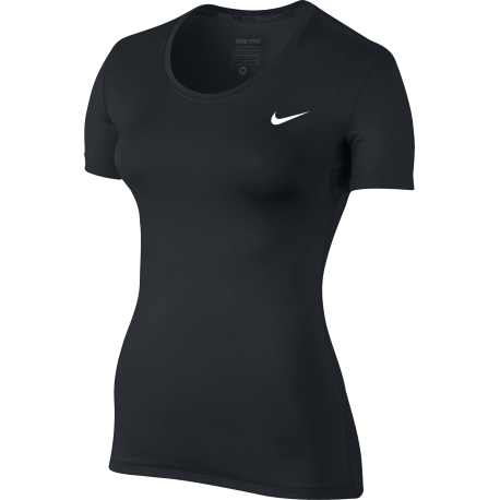 Nike T-Shirt Mm Cool Nos Nero Donna