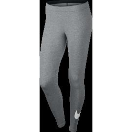 Nike Legging Club Logo 2 Train Grigio Donna