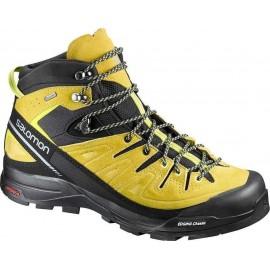Salomon Pedula X Alp Mid Ltr Gtx Black/Alpha Yellow
