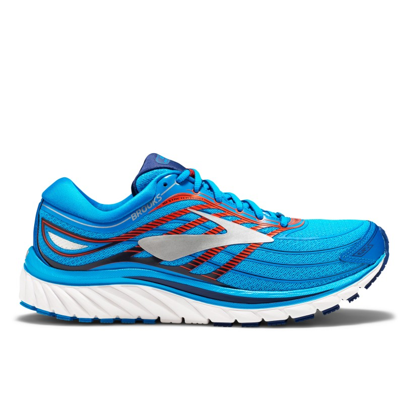 Brooks Glycerin 15 Black/Electric Blue