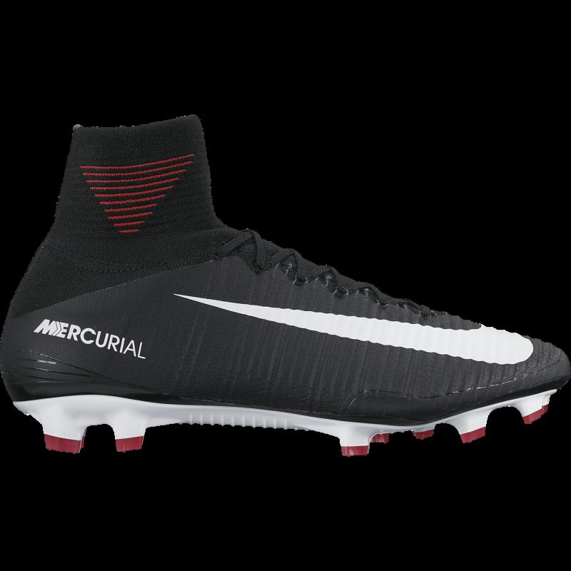 Nike Scarpa Mercurial Superfly V Fg Nero / Bianco