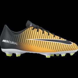 Nike Scarpa Mercurial Victory VI Fg Giallo / Nero Bambino