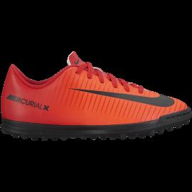 Nike Scarpa Mercurial Vortex III Red / White Bambino