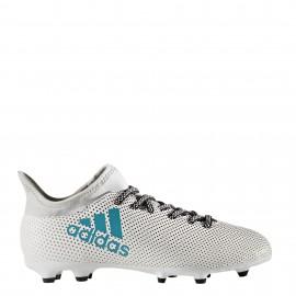 Adidas X 17,3 FG Bianco/Azz Bambino