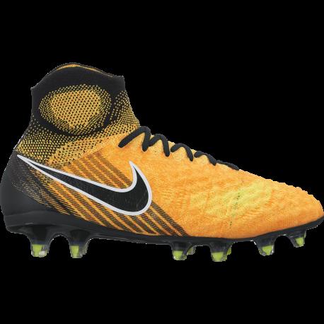 Nike Scarpa Jr Magista Obra II Fg Giallo/Nero