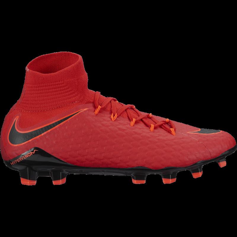 Nike Scarpa Hypervenom Phatal III Df Fg Red/Black