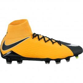 Nike Scarpa Hypervenom Phatal III Df Fg Giallo/Nero